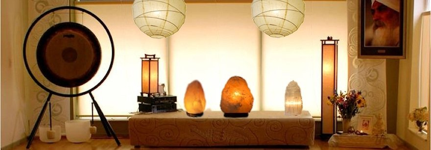 Rice paper lamps