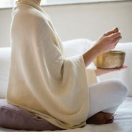 Meditatie deken