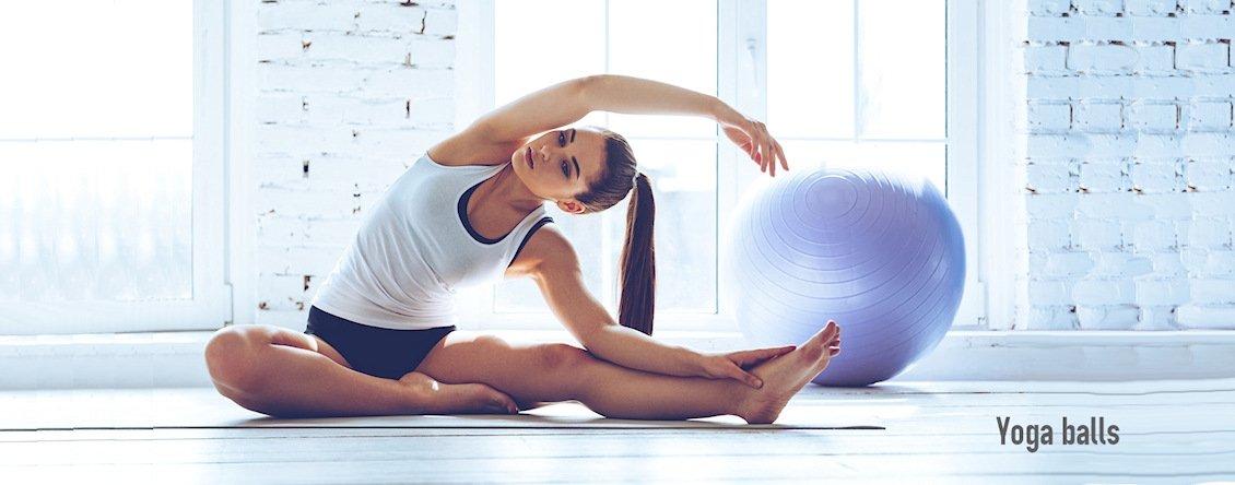 Yoga balls & wheels
