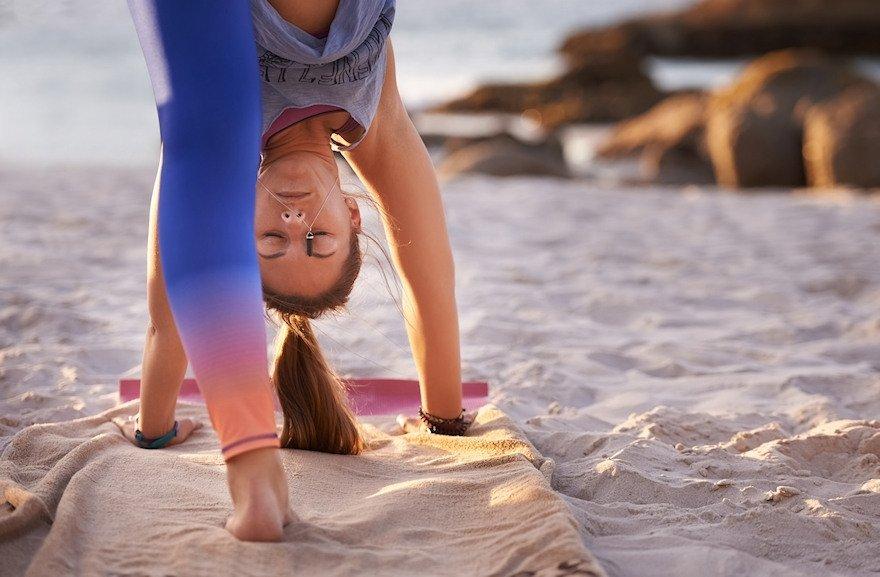 yoga dekens handdoeken kleden